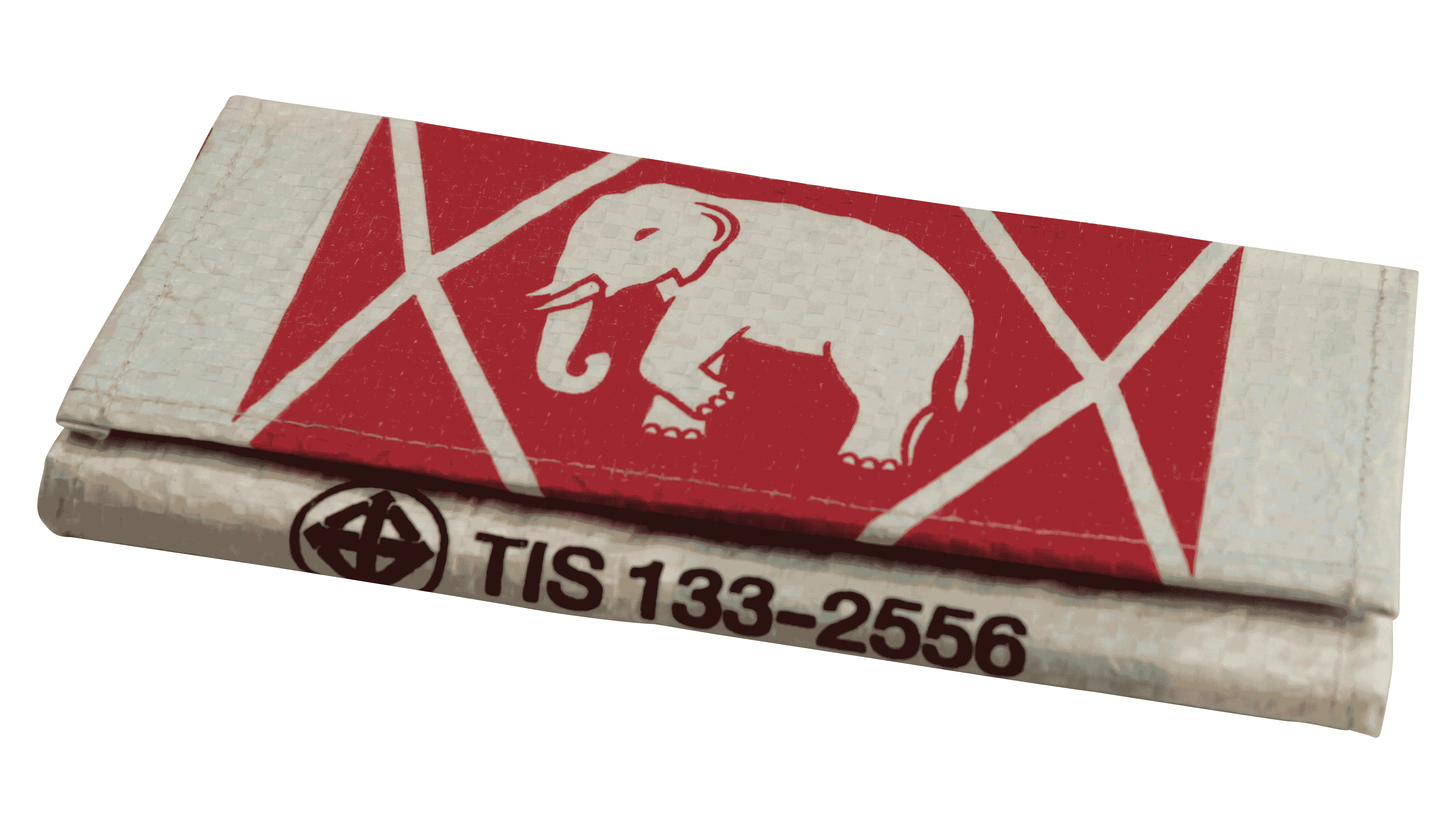 Portomonnaie - groot - Wit olifant