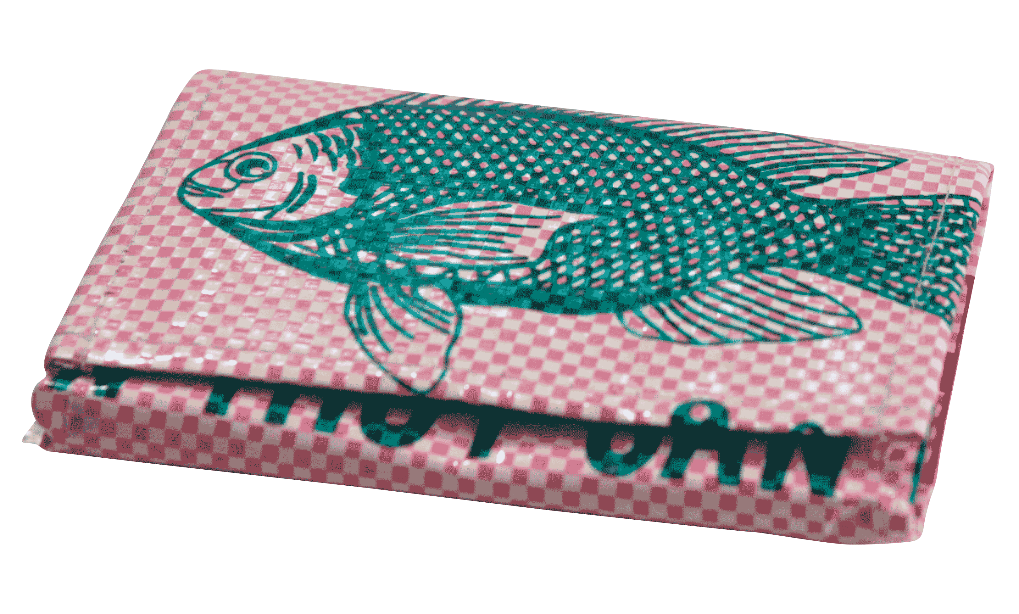 Portomonnaie - klein -roze vis