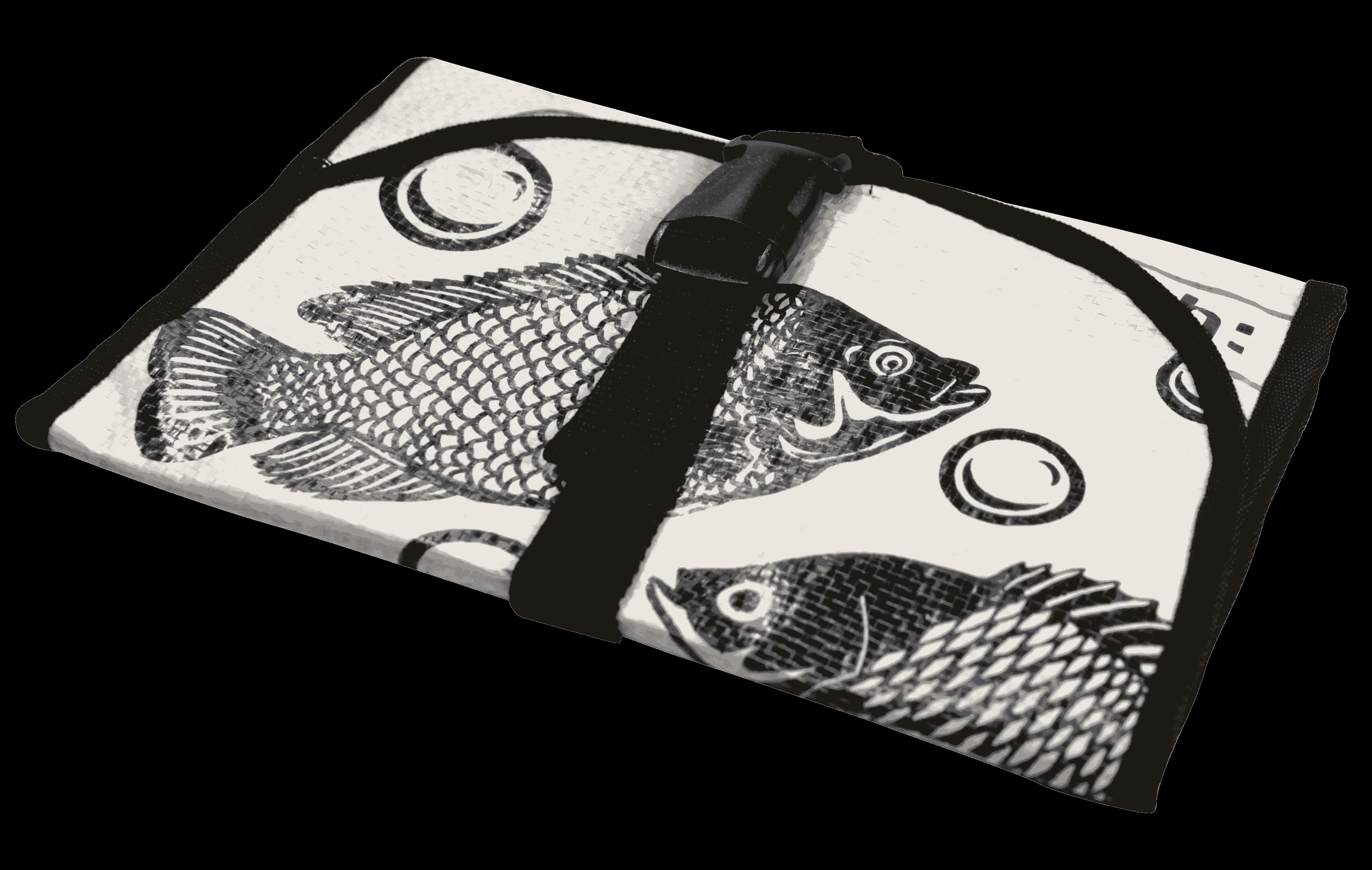 Toilettas - witte vis