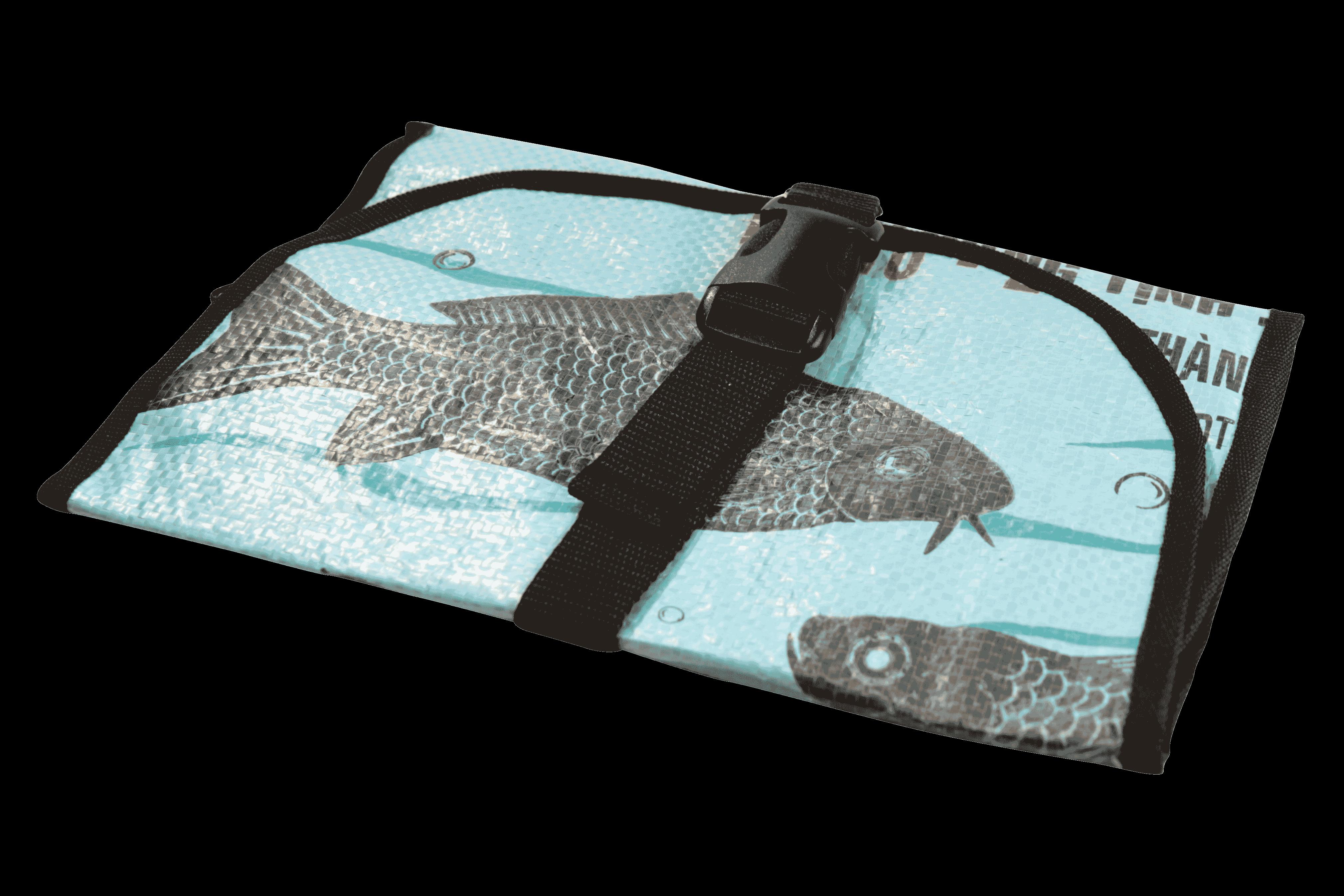 Toilettas - blauwe vis
